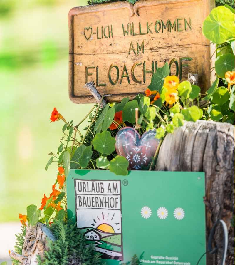 Herzlicher Empfang im Urlaub auf dem Bauernhof: Am Floachhof in Weerberg