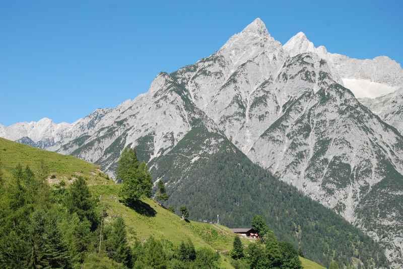 Das stillste Tal im Karwendel: Von Vomp hinein in das Vomper Loch