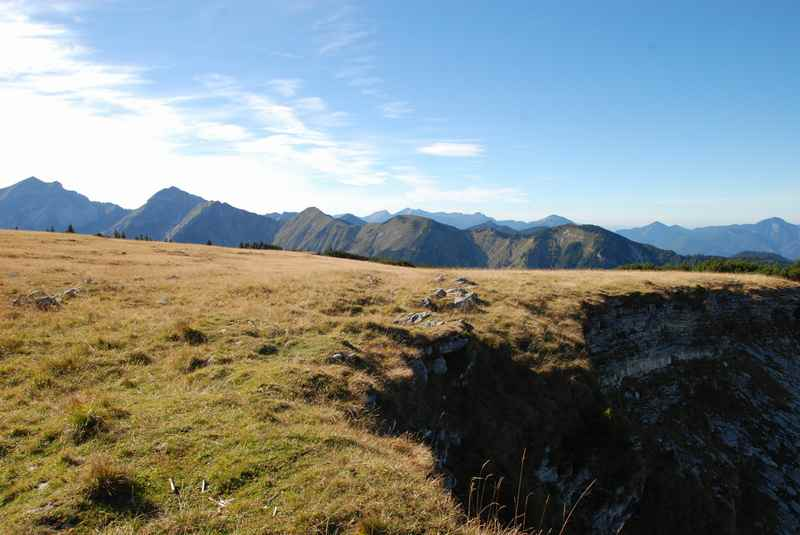 Vorderskopf wandern ab Kaiserhütte im Rißtal