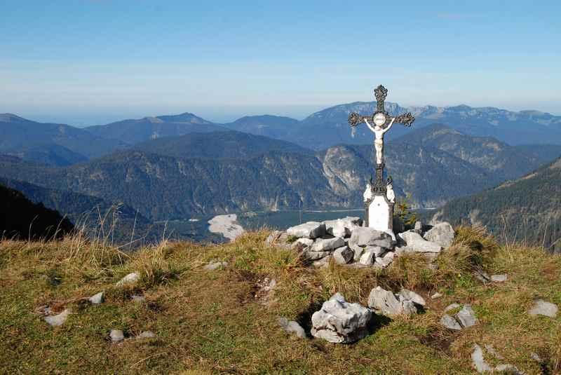 Auf den Vorderskopf wandern im Karwendel