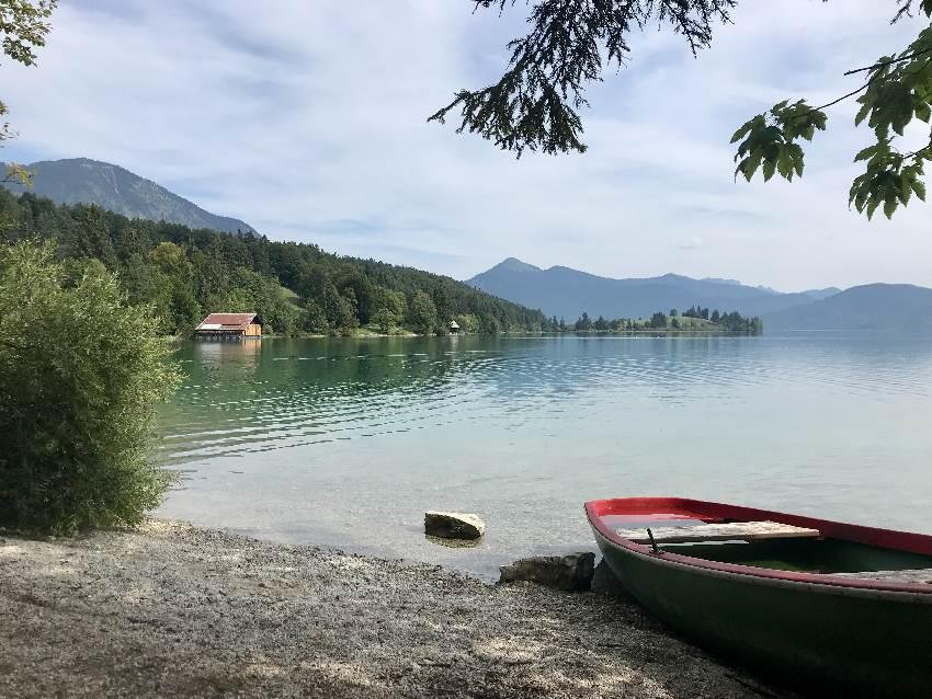 Wer will: Nach der Simetsberg Wanderung noch auf einen Abstecher zum Walchensee