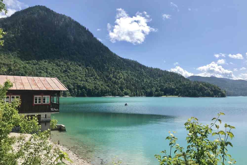 Walchensee Wallgau - nur gut 6 Kilometer von Wallgau zu einem der schönsten Seen in Bayern!