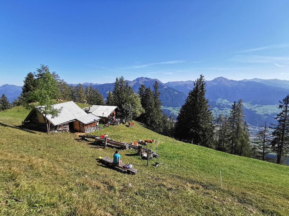 So idyllisch liegt die Waldhorbalm im Karwendel