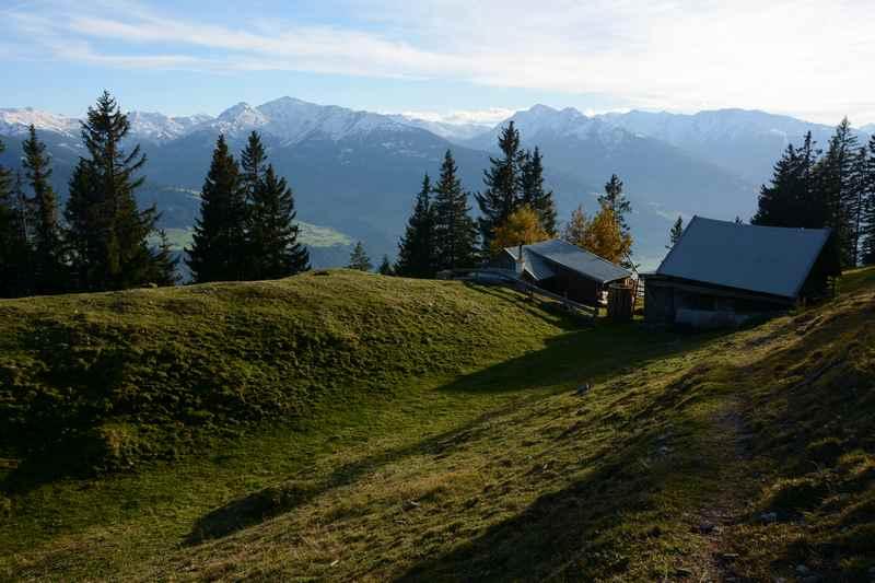 ... die unbekannte Waldhorbalm in Vomperberg, wildes Karwendelgebirge