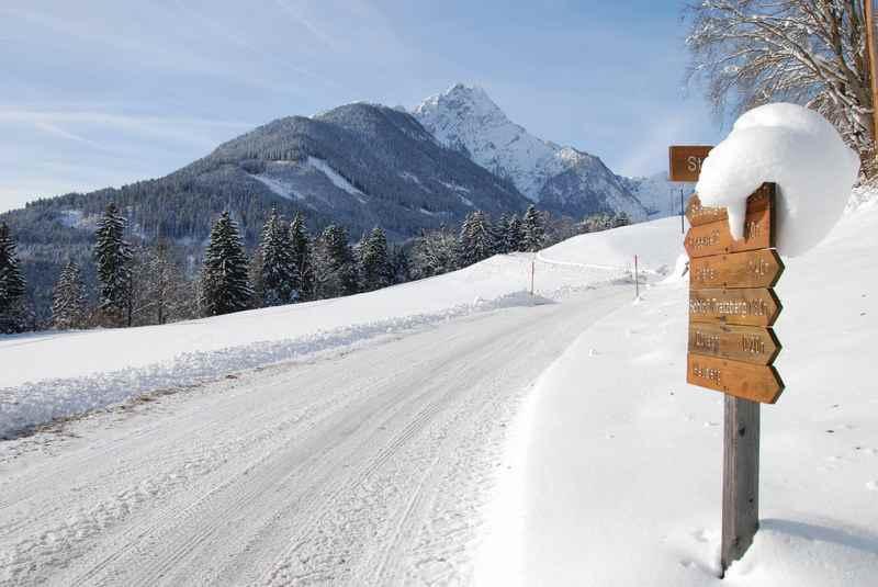 Stans winterwandern - so schön bei Neuschnee