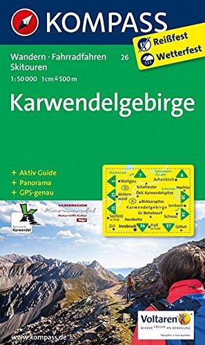 Karwendel Karte:  Das ist die richtige Wanderkarte Karwendel