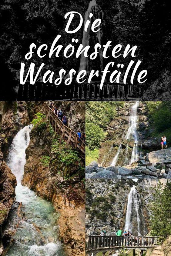 Die schönsten Wasserfälle: Merk dir diesen Pin auf Pinterest für deine nächste Planung von Ausflug oder Urlaub im Karwendel!