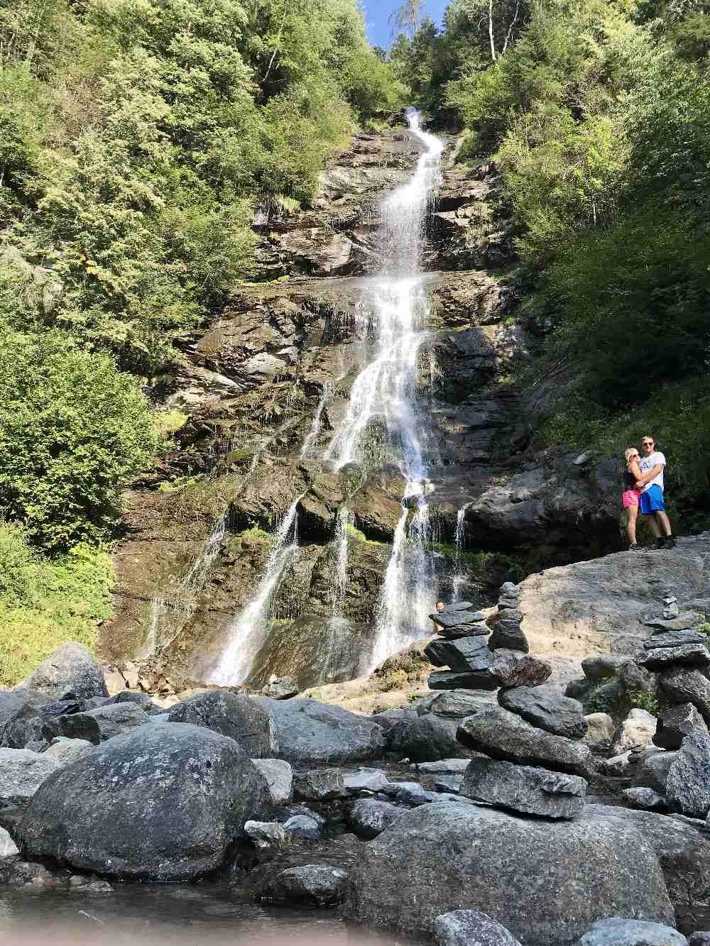 Der größte Zillertal Wasserfall - geht auch gut mit Kindern
