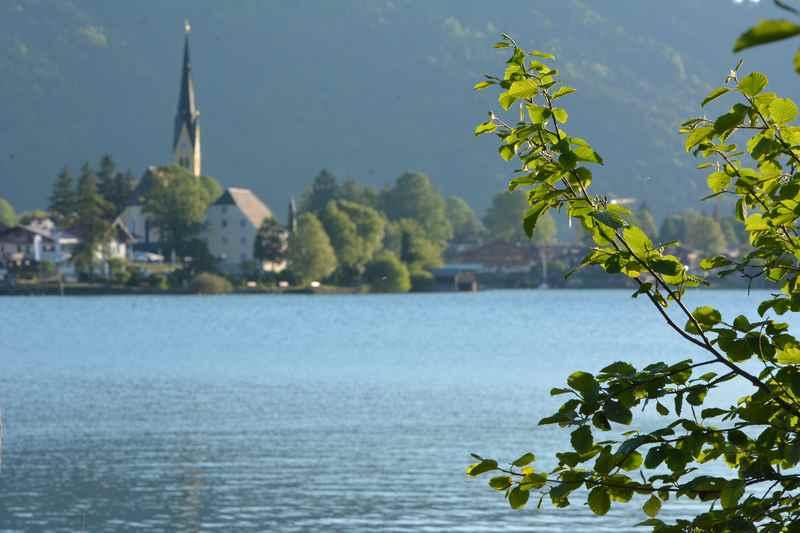 Traumplätze der Alpen - der Tegernsee mit dem Malerwinkel