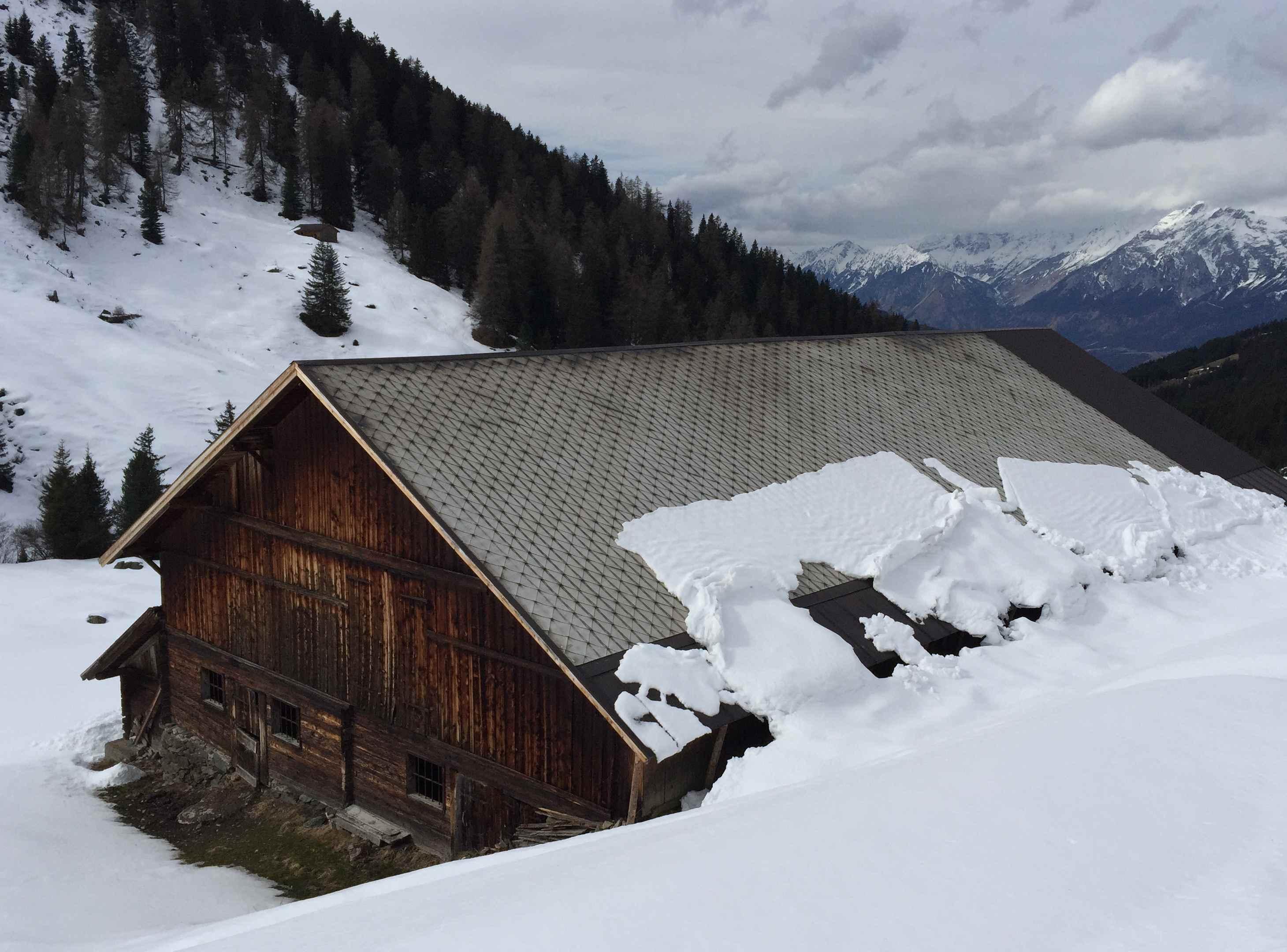 Im Nurpenstal bei der Weerberg Skitour in Tirol
