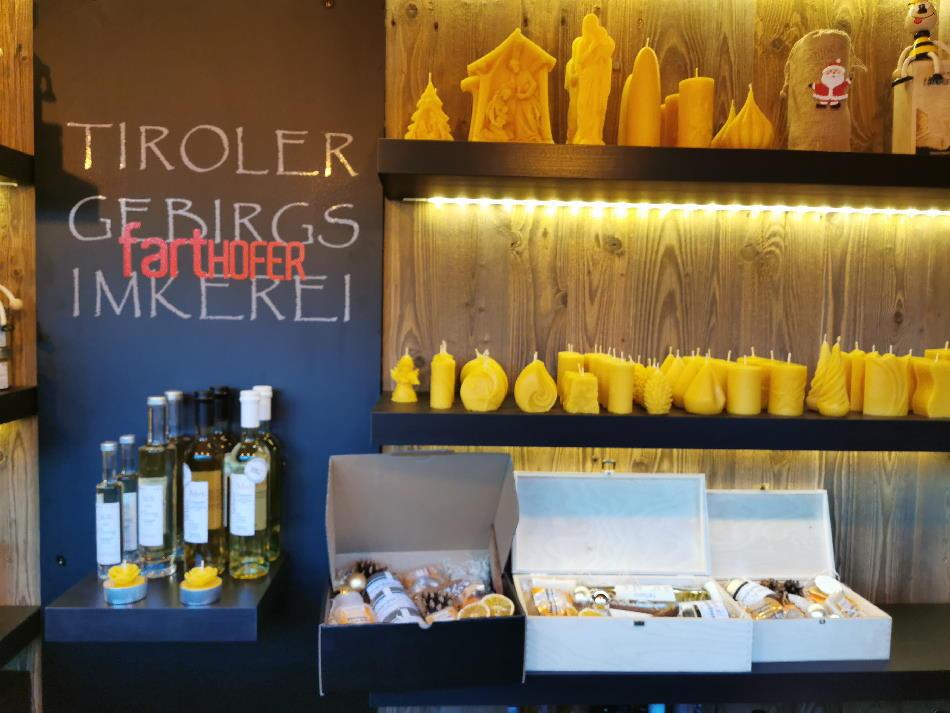 Mein Tipp: Besuch den Tiroler Imker - Klaus Farthofer auf dem Weihnachtsmarkt