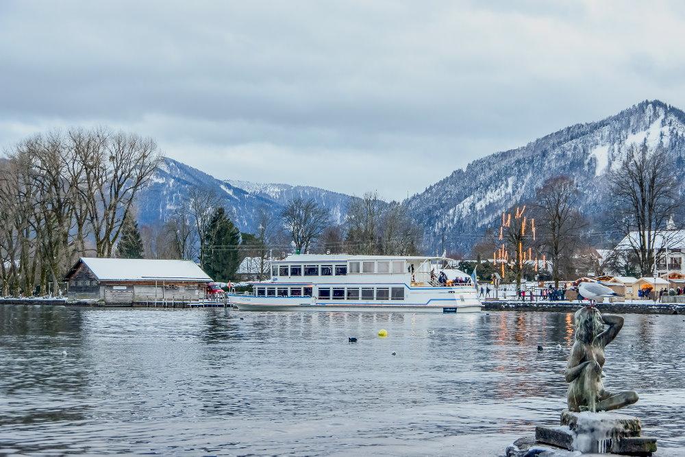 Adventszauber Tegernsee: Mit dem Schiff von Weihnachtsmarkt zu Weihnachtsmarkt, Foto: Thomas Müller