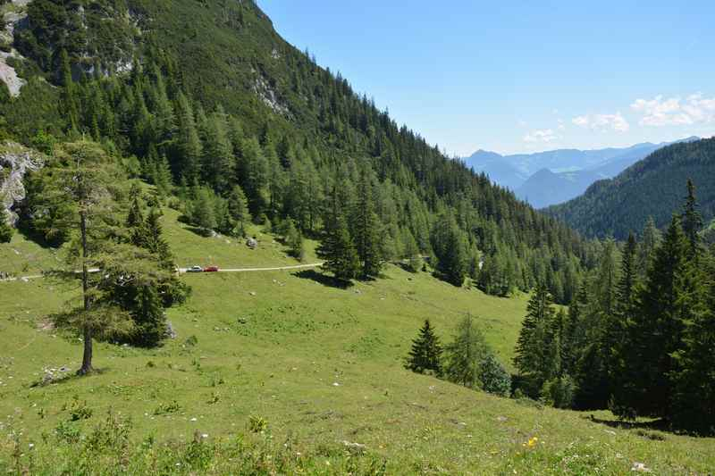 Das Weißenbachtal beim Achensee in Tirol