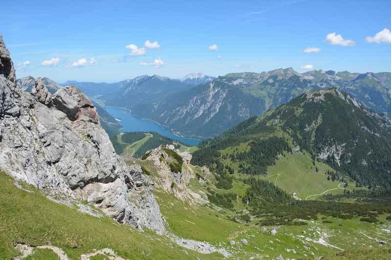 Stanser Joch Wanderung - via Weissenbachtal zurück nach Eben am Achensee