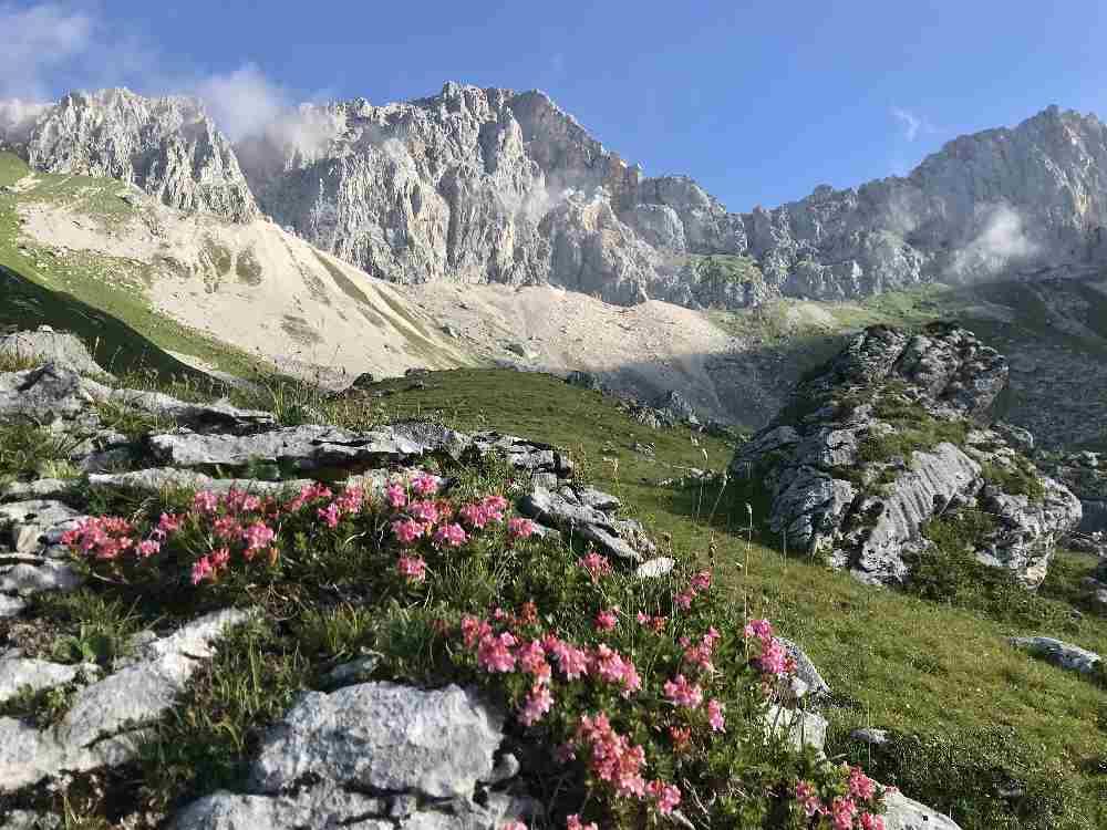 Hüttentour im Wettersteingebirge - das war echt super!