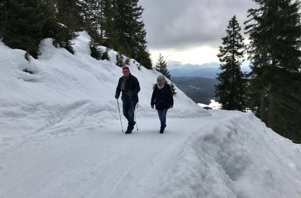 So macht Winterwandern Spaß - Winter im Wettersteingebirge