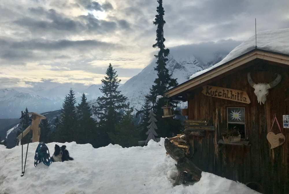 Wettersteinhütte Leutasch winterwandern in der Leutasch - so schön ist dein Ziel!