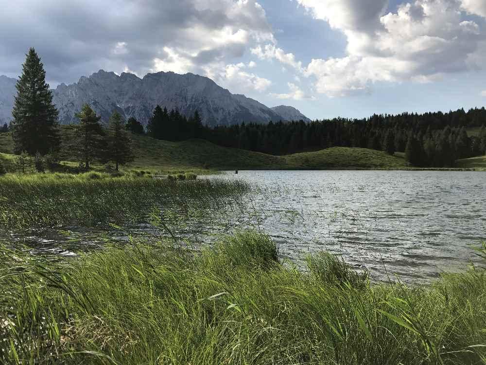 Der idyllische Wildensee am Kranzberg