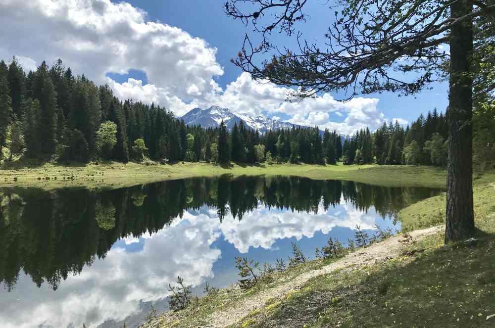 Seefeld in Tirol Rarität: Der Wildmoossee ist nicht jedes Jahr ein See!