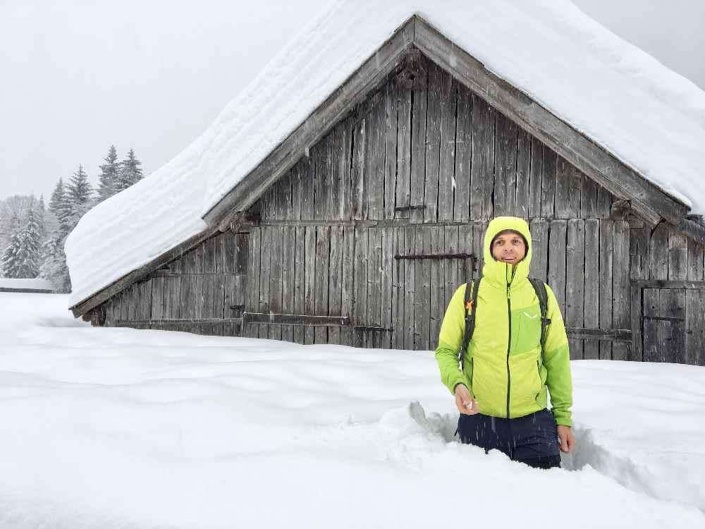 Im Schnee winterwandern - auf meiner mehrtägigen Schneewanderung