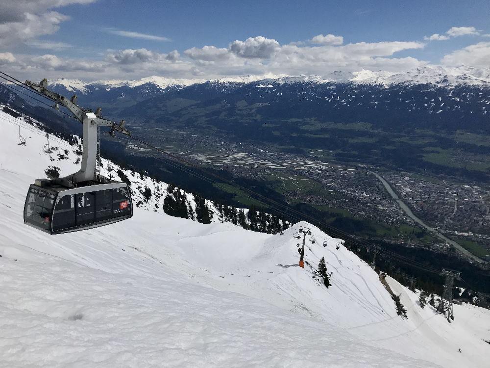 DAS Skigebiet der Stadt: Winter in Innsbruck auf der Nordkette