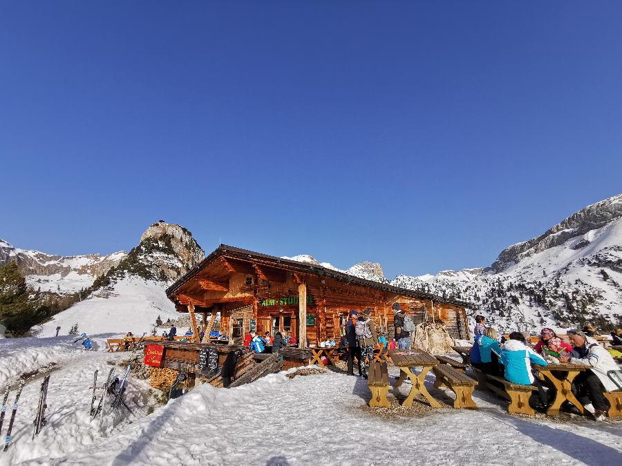 Winterwandern Achensee - samt Einkehr auf einer urigen Alm mit Sonnenterrasse