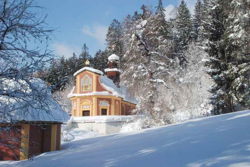 Terfens winterwandern - rund um die Maria Larch Kapelle