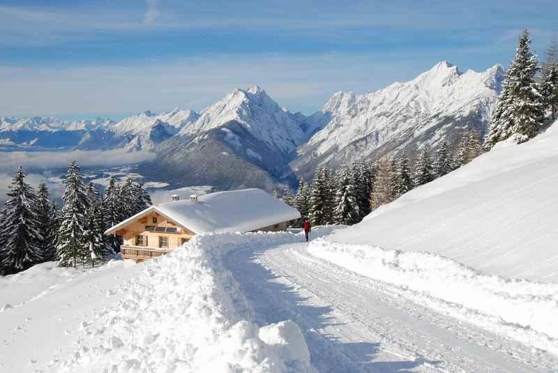 Plumpsmoos winterwandern in Tirol