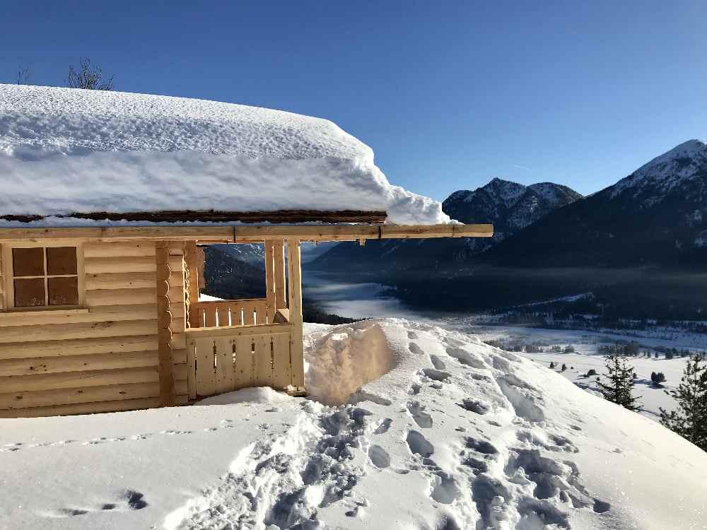 Winterwandern Wallgau: Mein Wanderziel ist der Krepelschrofen
