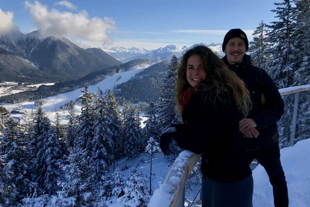 Die schönsten Winterwanderungen: Auf die Aussichtsplattform am Brunschkopf