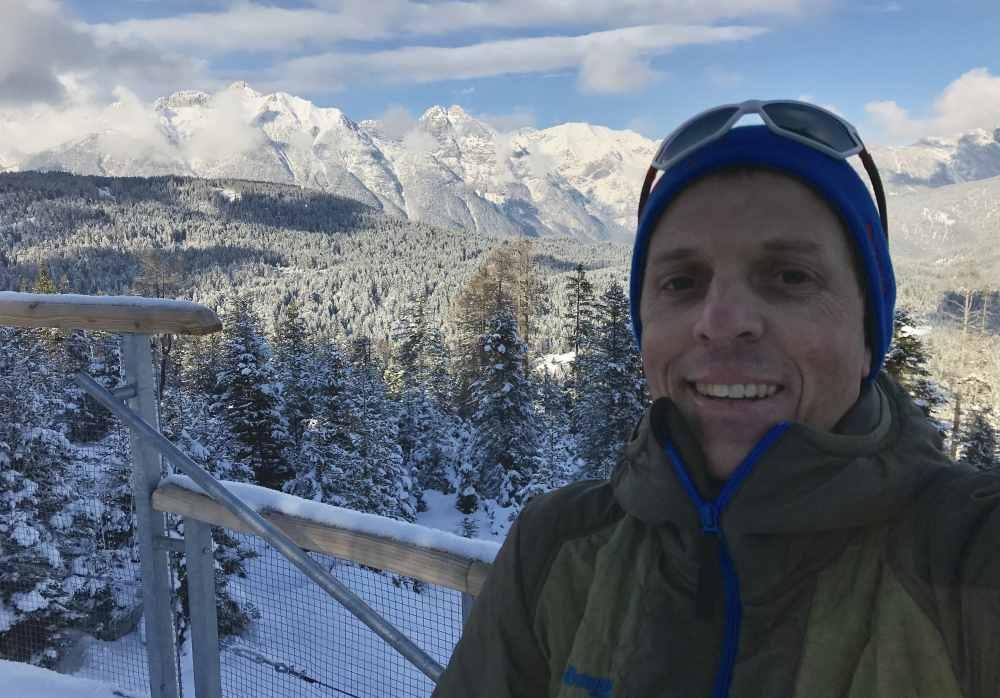 Das war das Panorama auf der Aussichtsplattform am Brunschkopf in Seefeld