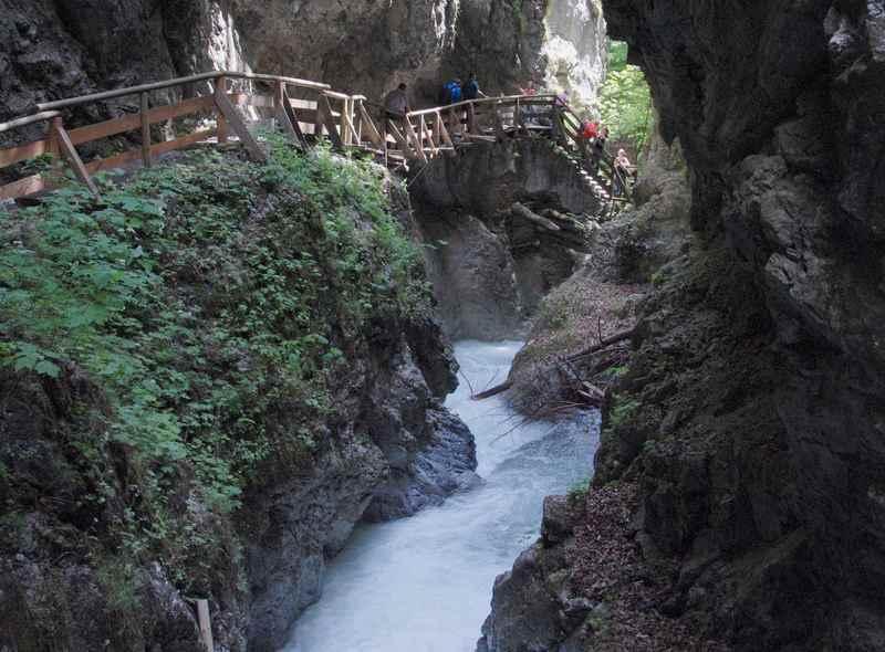 Schwaz wandern: Die Wolfsklamm befindet sich in der Silberregion Karwendel