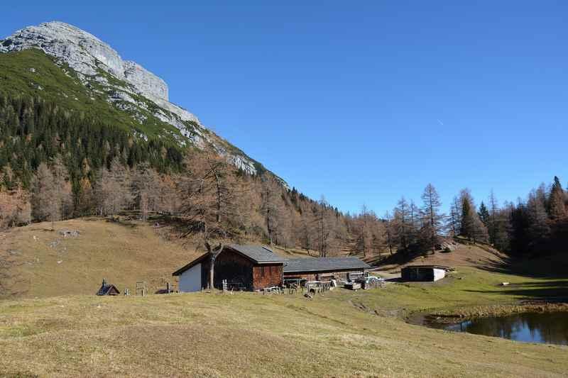 Von Zirl wandern im Karwendel