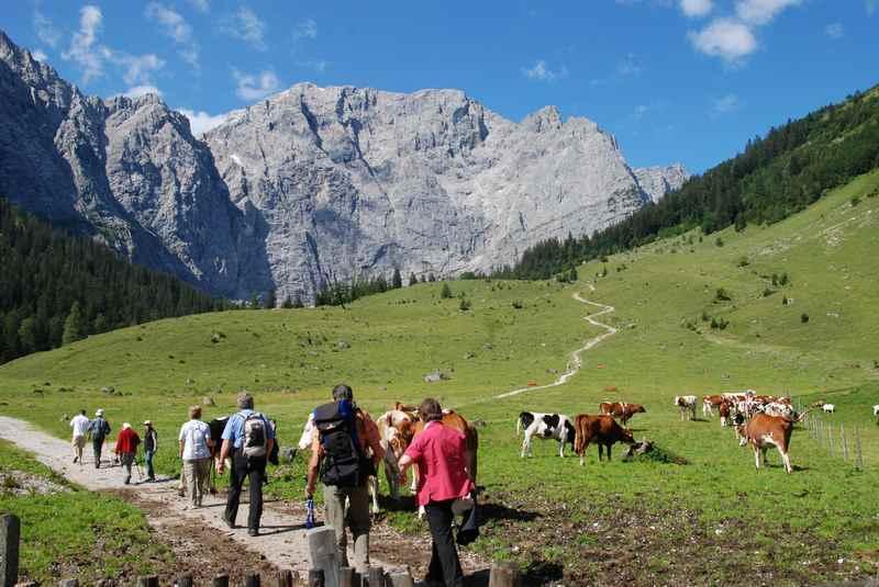 Geführte Wanderungen im Karwendelgebirge, kostenlos in der Silberregion Karwendel