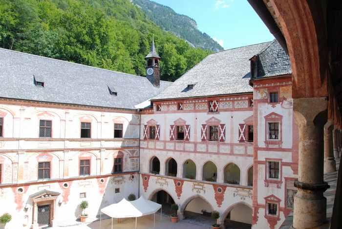 Schloss Tratzberg - heiraten in einem Schloss im Karwendel