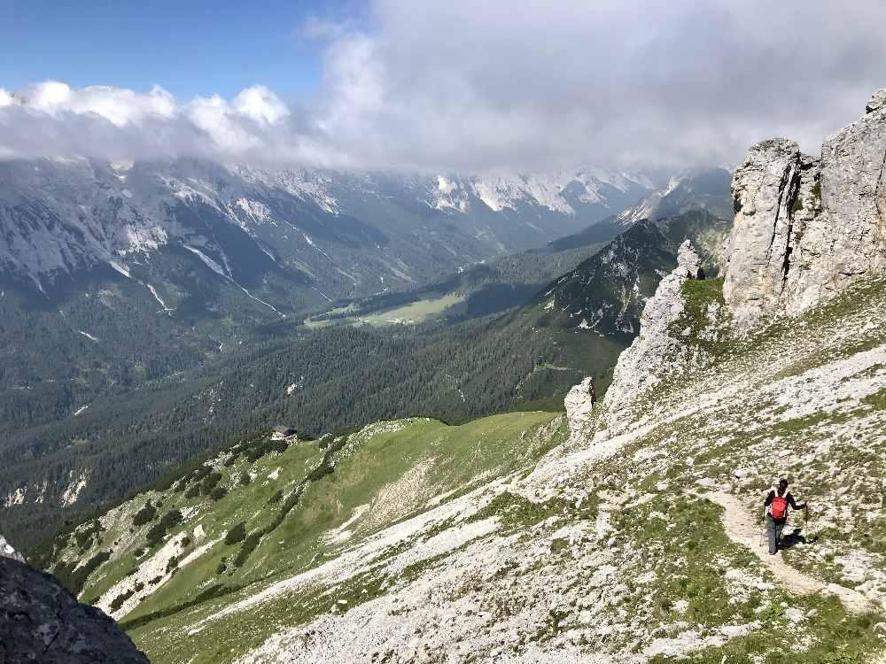 Meine mehrtägige Wanderung in Seefeld - die 2 tägige Hüttenwanderung bei der Wettersteinhütte