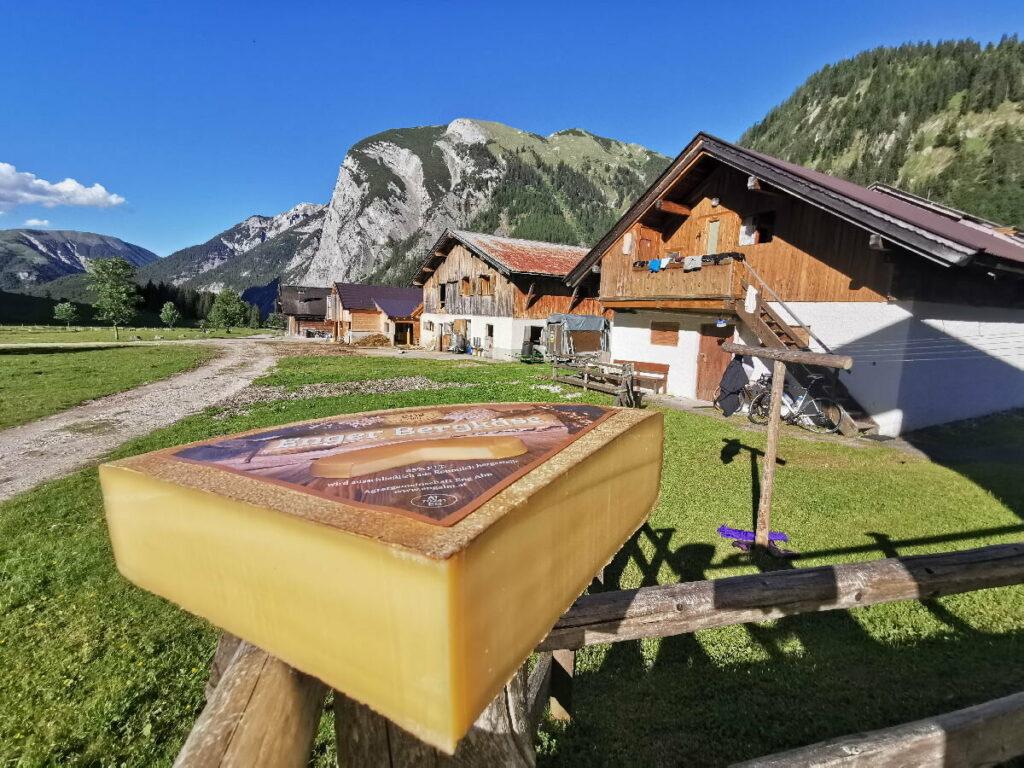 4 tägige Hüttenwanderung - mit der einmalig schönen Engalm am Ahornboden