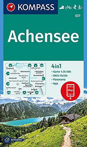 Achensee Karte