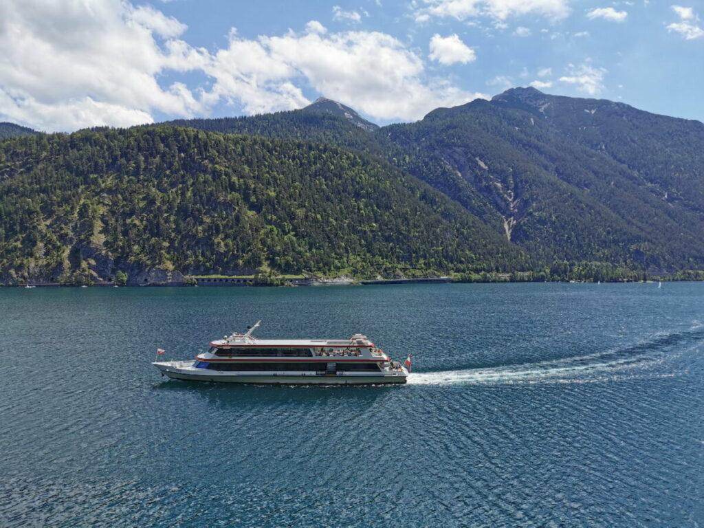 Mit der Achensee Schifffahrt unterwegs - das solltest du selbst mal probieren