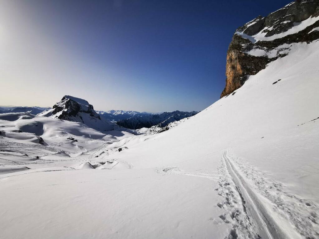 Achensee Winter mit viel Ruhe im Rofan