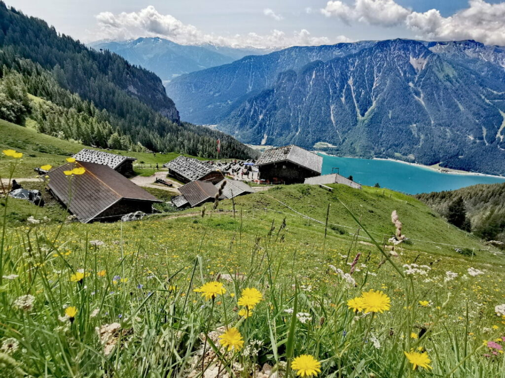 Traumhafte Berge und Wege zum Achensee wandern