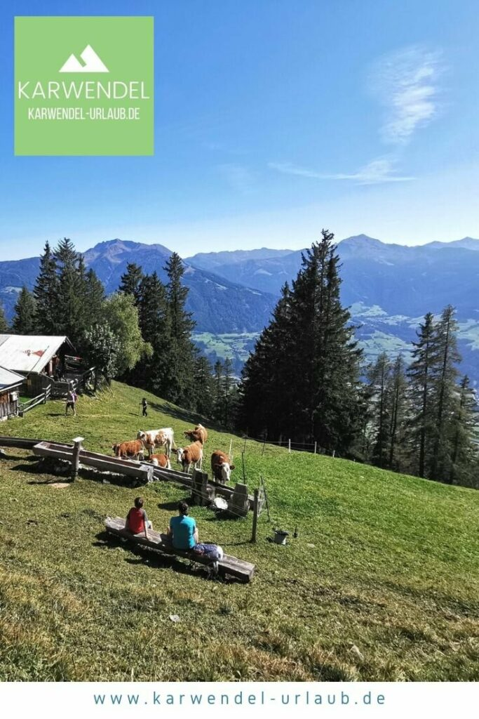 Almwandern im Karwendel