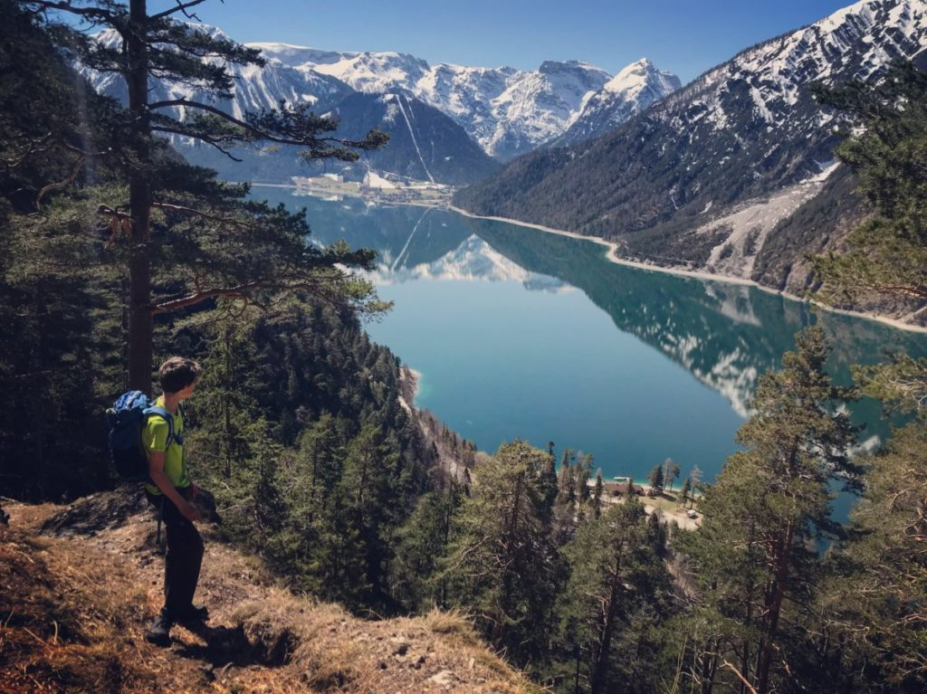 Traumblick auf den Achensee und das Karwendel