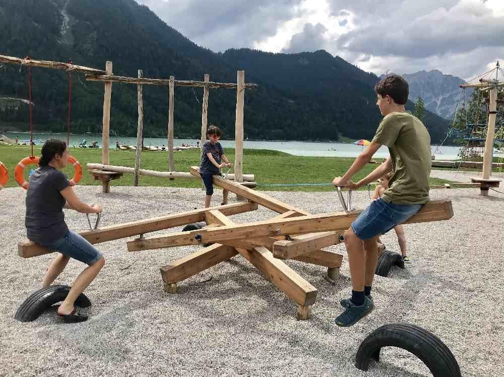 Der neue Atoll Achensee Spielplatz in Tirol