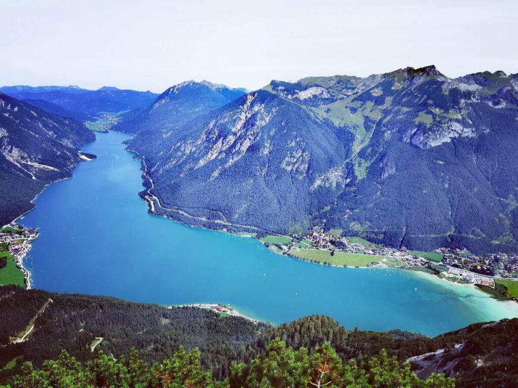 Bärenkopf Achensee - eine der meistbegangenen Wanderungen!