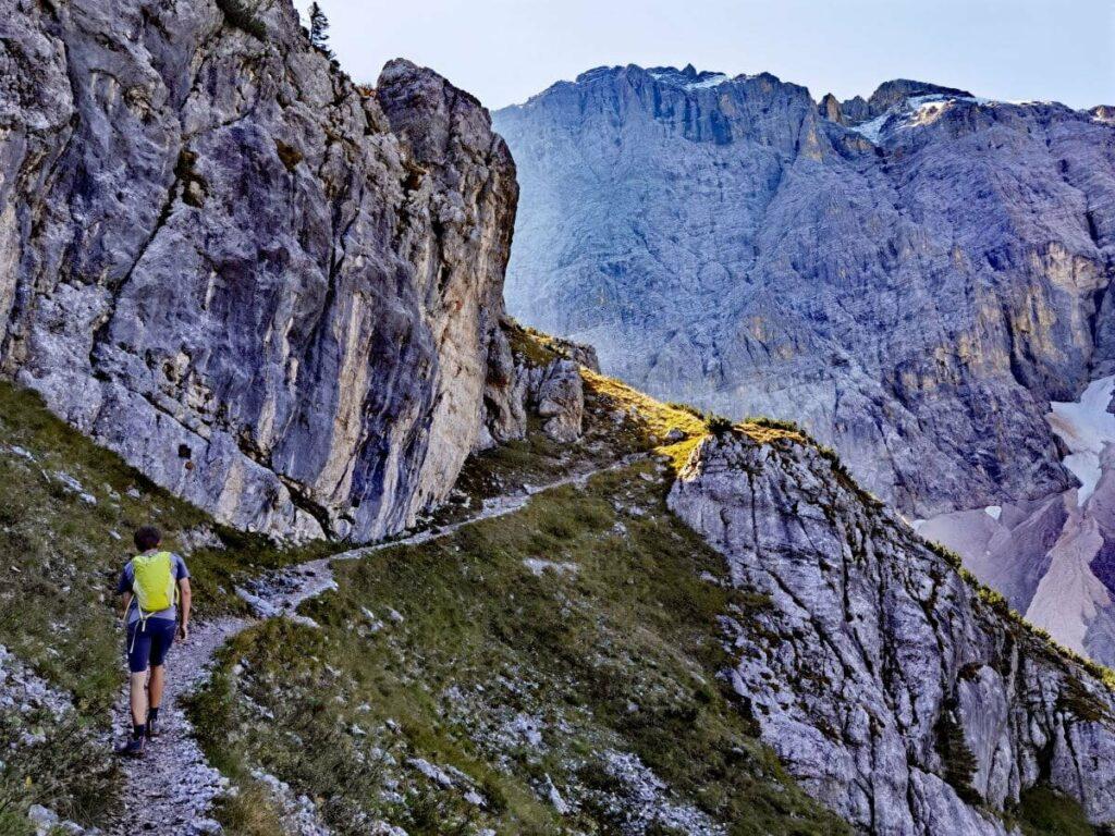 Auf die Birkkarspitze Bergwandern im Karwendel