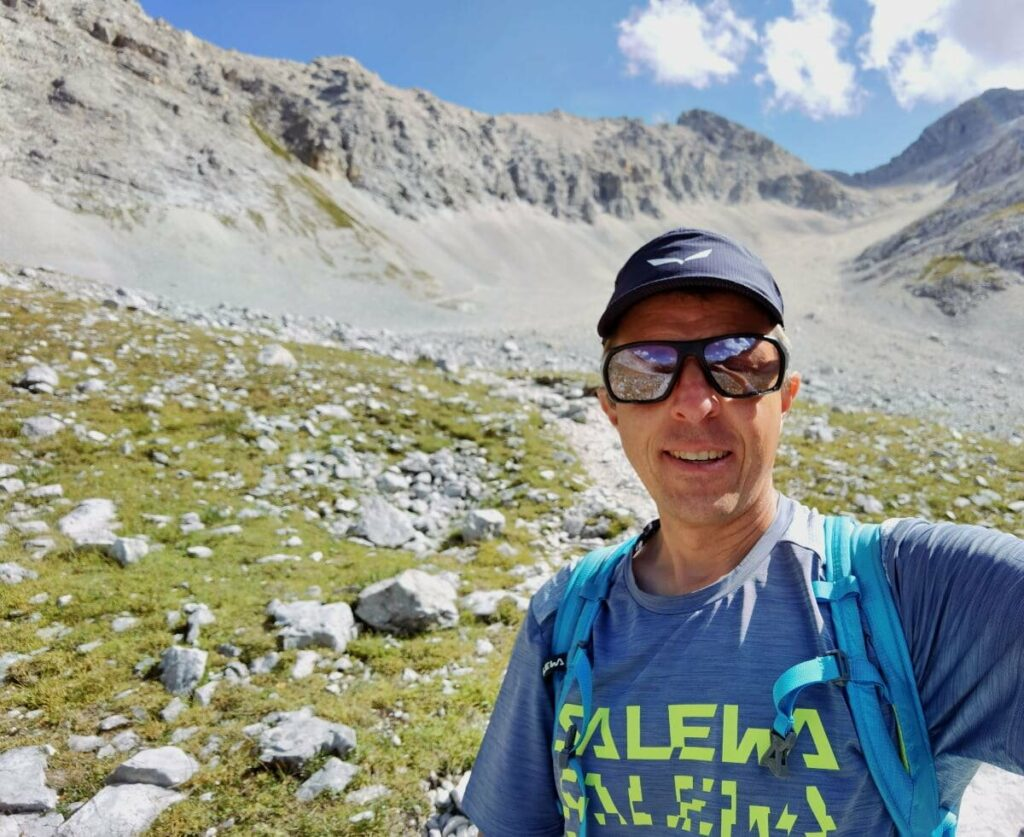 Birkkarspitze wandern - nur für Ausdauernde und Geübte zu empfehlen