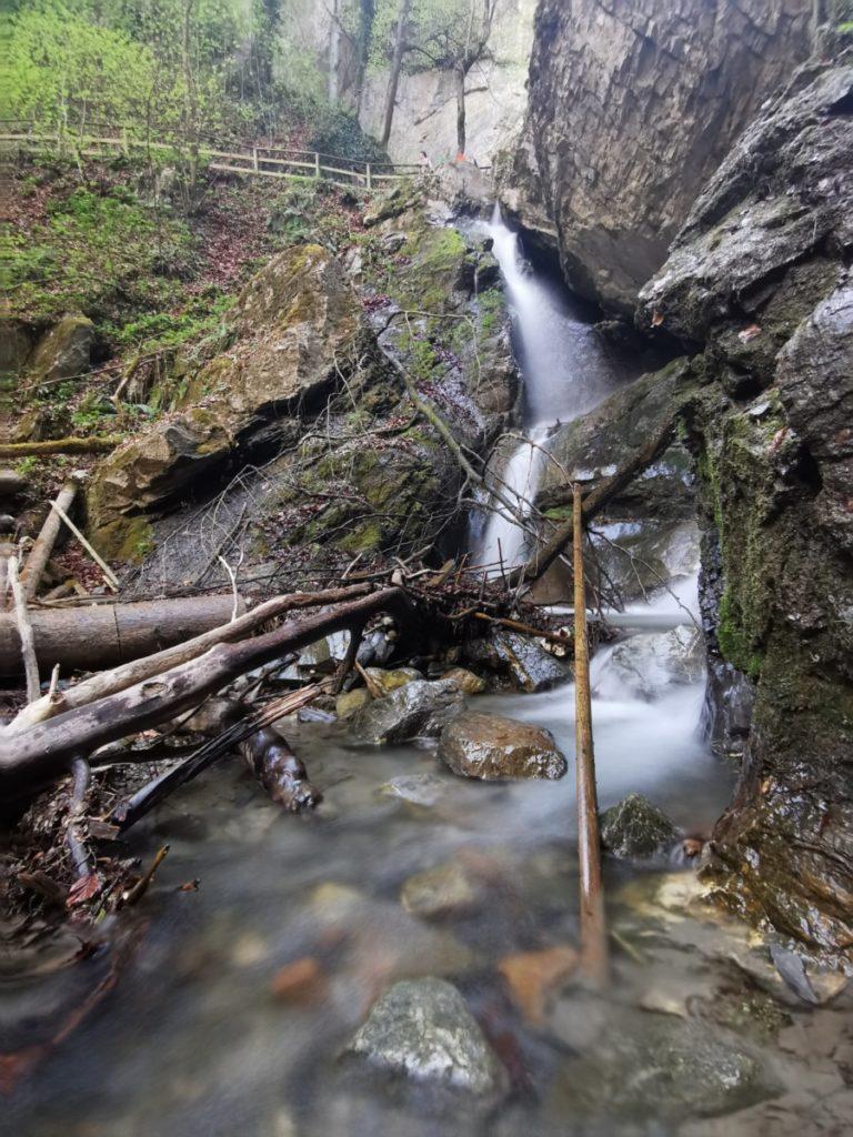 Der Bucher Wasserfall Tirol