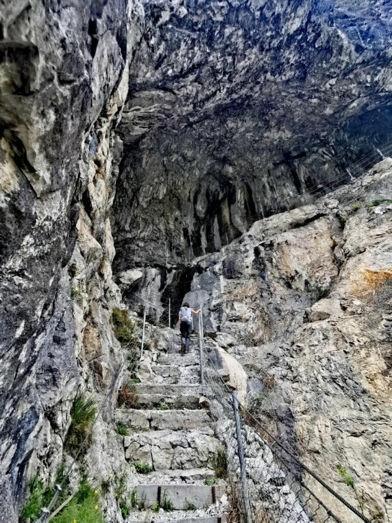 Beeindruckender Einstieg in die Kaiser Max Grotte