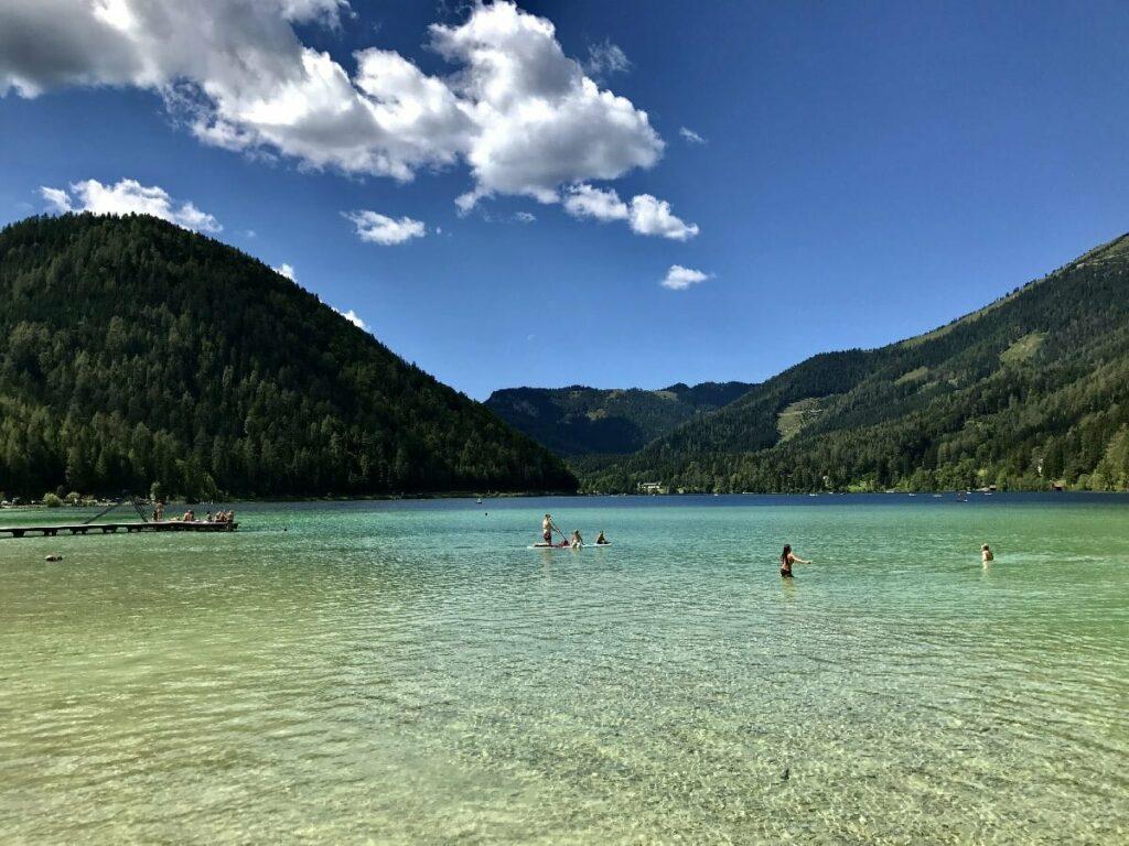 Türkisgrüne Seen in Österreich? Der Erlaufsee ist Einer davon